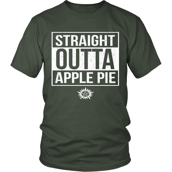 Straight Outta Apple Pie - Apparel - T-shirt - Supernatural-Sickness - 5