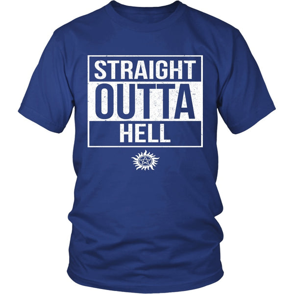 Straight Outta Hell - Apparel - T-shirt - Supernatural-Sickness - 2