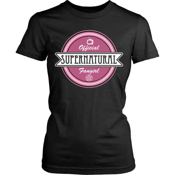 Supernatural Fan Girl - Apparel - T-shirt - Supernatural-Sickness - 11