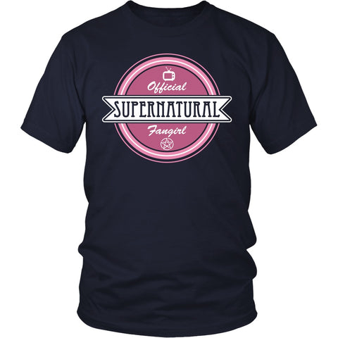Supernatural Fan Girl - Apparel - T-shirt - Supernatural-Sickness - 1