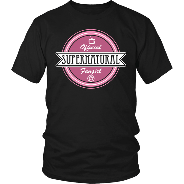 Supernatural Fan Girl - Apparel - T-shirt - Supernatural-Sickness - 3