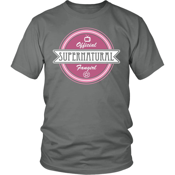 Supernatural Fan Girl - Apparel - T-shirt - Supernatural-Sickness - 4