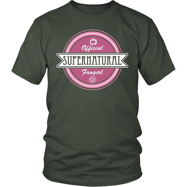 Supernatural Fan Girl - Apparel - T-shirt - Supernatural-Sickness - 5