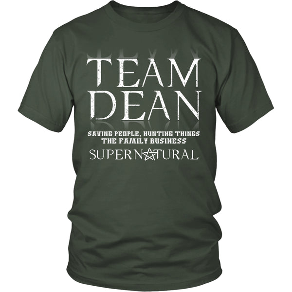 Team Dean - Apparel - T-shirt - Supernatural-Sickness - 5