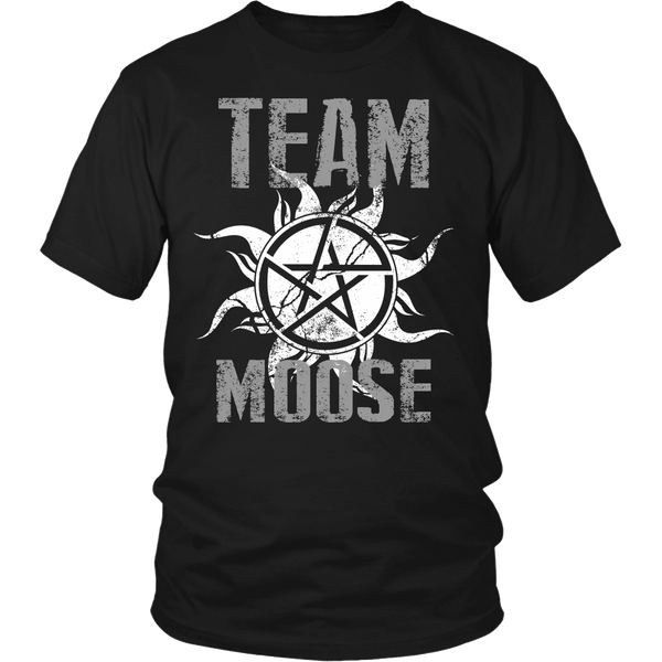Team Moose - T-shirt - Supernatural-Sickness - 1
