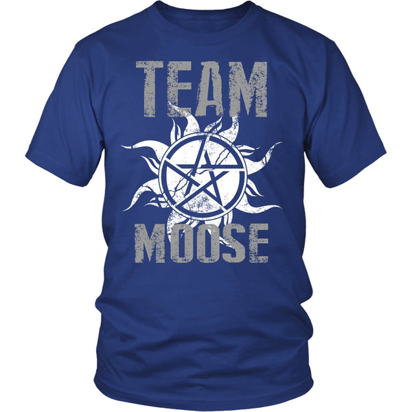 Team Moose - T-shirt - Supernatural-Sickness - 2