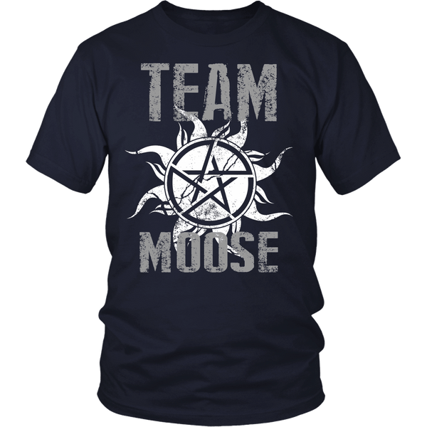 Team Moose - T-shirt - Supernatural-Sickness - 3