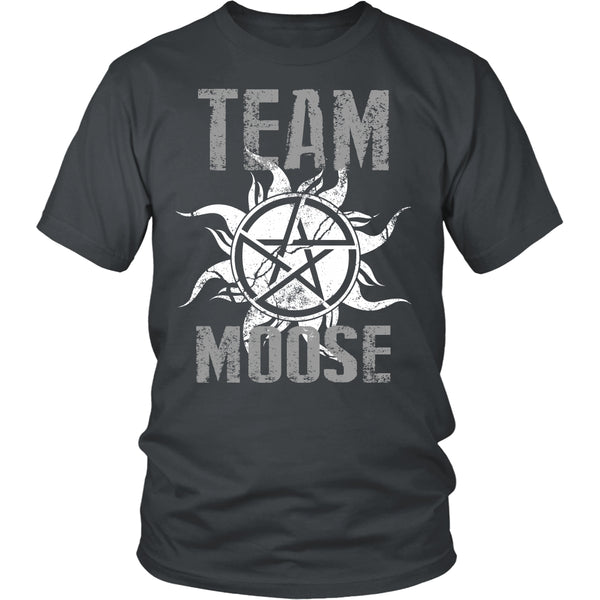 Team Moose - T-shirt - Supernatural-Sickness - 4