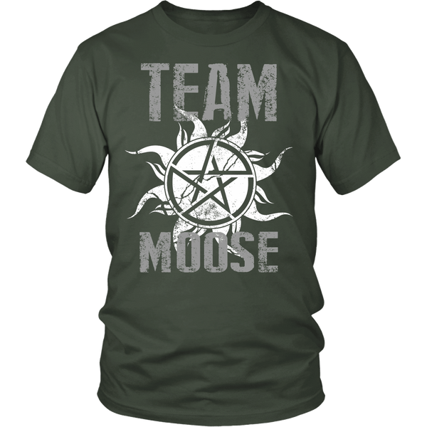 Team Moose - T-shirt - Supernatural-Sickness - 5