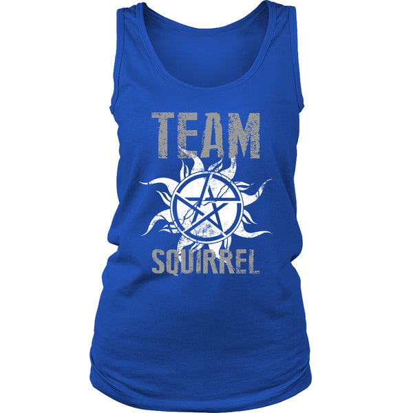 Team Squirrel - T-shirt - Supernatural-Sickness - 11