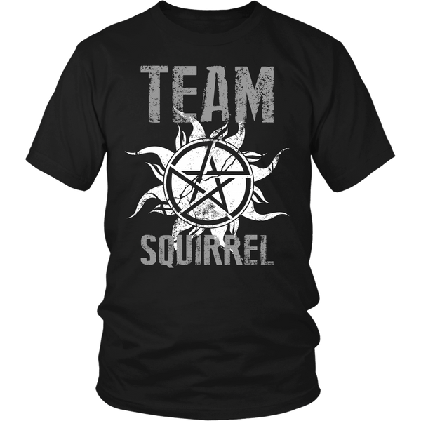 Team Squirrel - T-shirt - Supernatural-Sickness - 1