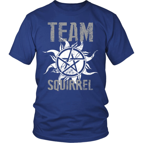 Team Squirrel - T-shirt - Supernatural-Sickness - 2