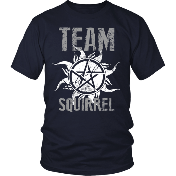 Team Squirrel - T-shirt - Supernatural-Sickness - 3