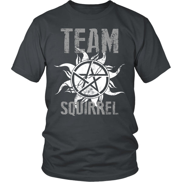 Team Squirrel - T-shirt - Supernatural-Sickness - 4