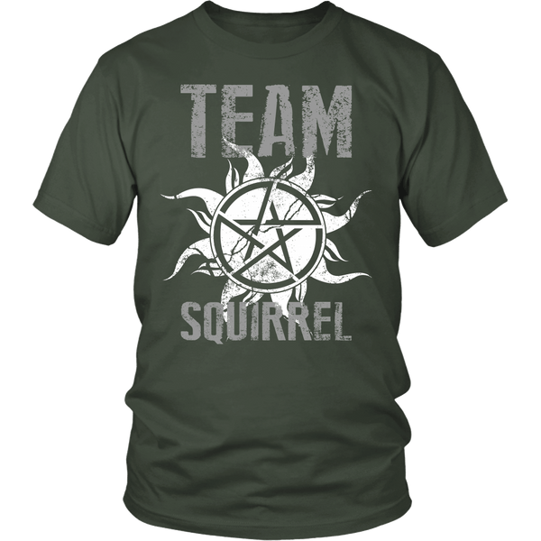 Team Squirrel - T-shirt - Supernatural-Sickness - 5