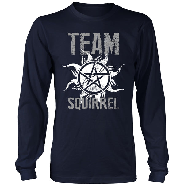 Team Squirrel - T-shirt - Supernatural-Sickness - 6
