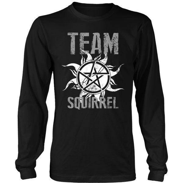 Team Squirrel - T-shirt - Supernatural-Sickness - 7