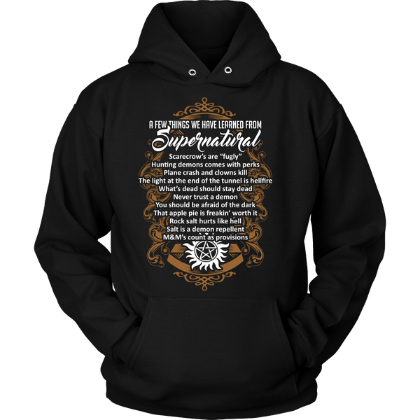 Things Learned From Supernatural - Apparel - T-shirt - Supernatural-Sickness - 8