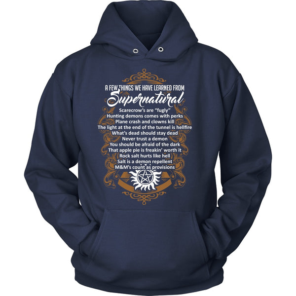 Things Learned From Supernatural - Apparel - T-shirt - Supernatural-Sickness - 9