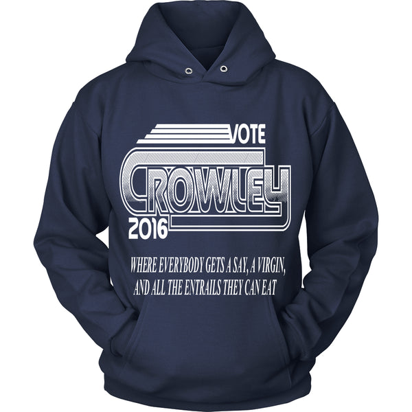 Vote Crowley - Tank Top - T-shirt - Supernatural-Sickness - 10