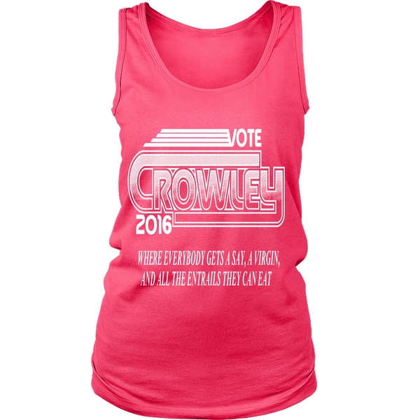 T-shirt - Vote Crowley - Tank Top