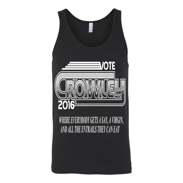 Vote Crowley - Tank Top - T-shirt - Supernatural-Sickness - 3