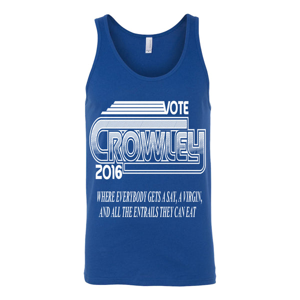 Vote Crowley - Tank Top - T-shirt - Supernatural-Sickness - 4