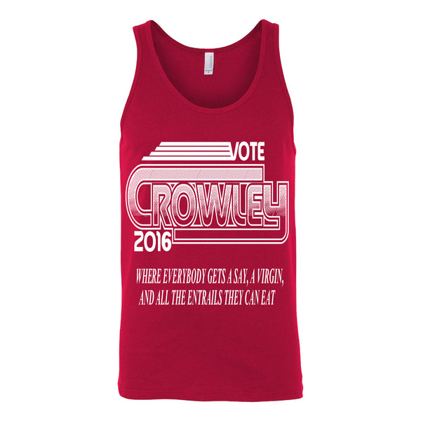 Vote Crowley - Tank Top - T-shirt - Supernatural-Sickness - 5