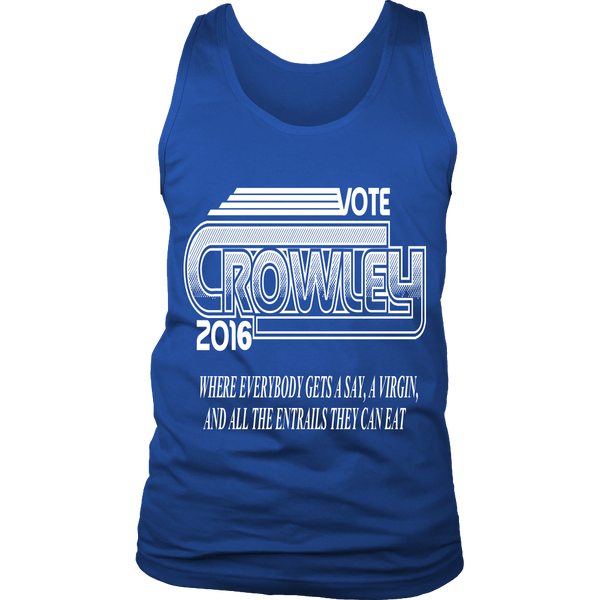 Vote Crowley - Tank Top - T-shirt - Supernatural-Sickness - 6