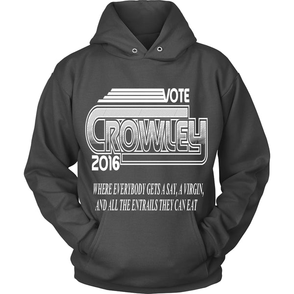 Vote Crowley - Tank Top - T-shirt - Supernatural-Sickness - 8