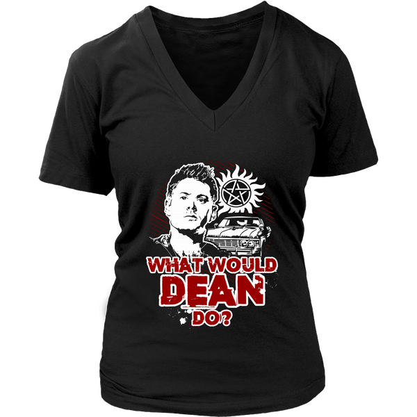What Would Dean Do? - T-shirt - Supernatural-Sickness - 12