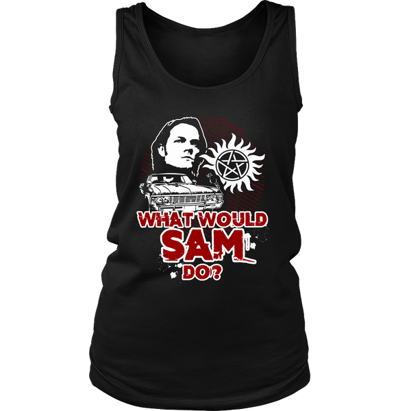 What Would Sam Do? - T-shirt - Supernatural-Sickness - 10