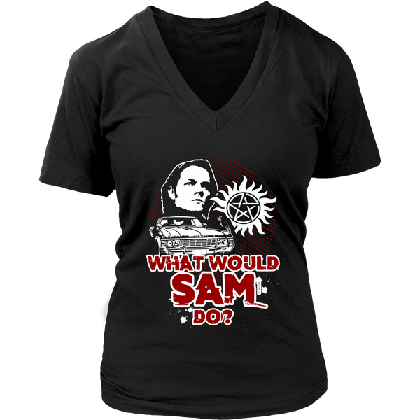 What Would Sam Do? - T-shirt - Supernatural-Sickness - 12