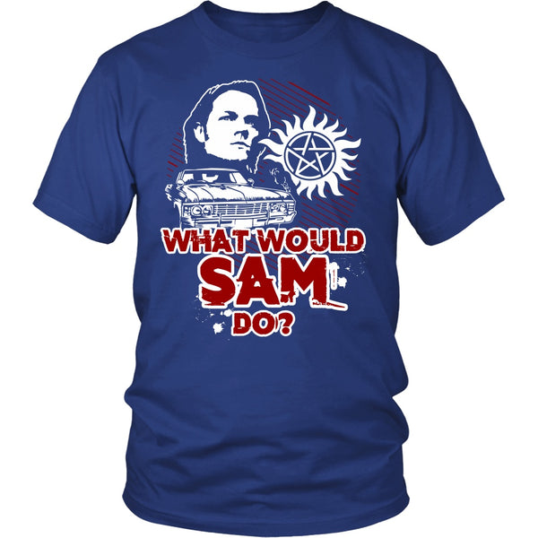 What Would Sam Do? - T-shirt - Supernatural-Sickness - 2