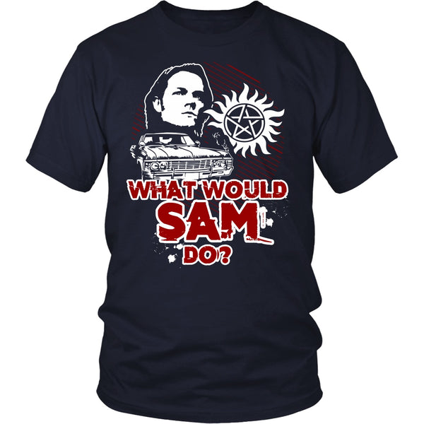 What Would Sam Do? - T-shirt - Supernatural-Sickness - 3