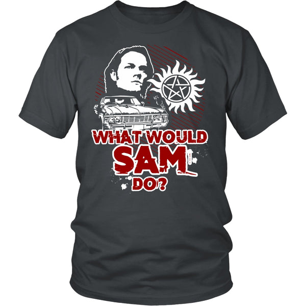 What Would Sam Do? - T-shirt - Supernatural-Sickness - 4