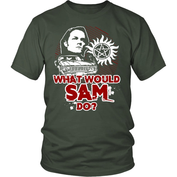 What Would Sam Do? - T-shirt - Supernatural-Sickness - 5