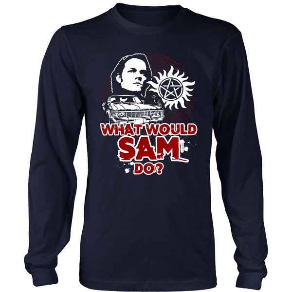What Would Sam Do? - T-shirt - Supernatural-Sickness - 6