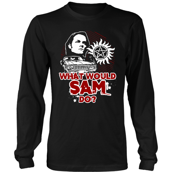 What Would Sam Do? - T-shirt - Supernatural-Sickness - 7