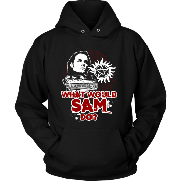 What Would Sam Do? - T-shirt - Supernatural-Sickness - 8
