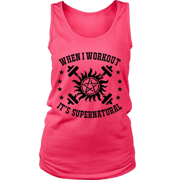 When I Workout - Apparel - T-shirt - Supernatural-Sickness - 11