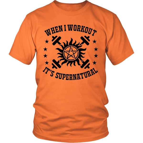 When I Workout - Apparel - T-shirt - Supernatural-Sickness - 5