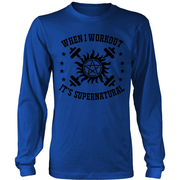 When I Workout - Apparel - T-shirt - Supernatural-Sickness - 6