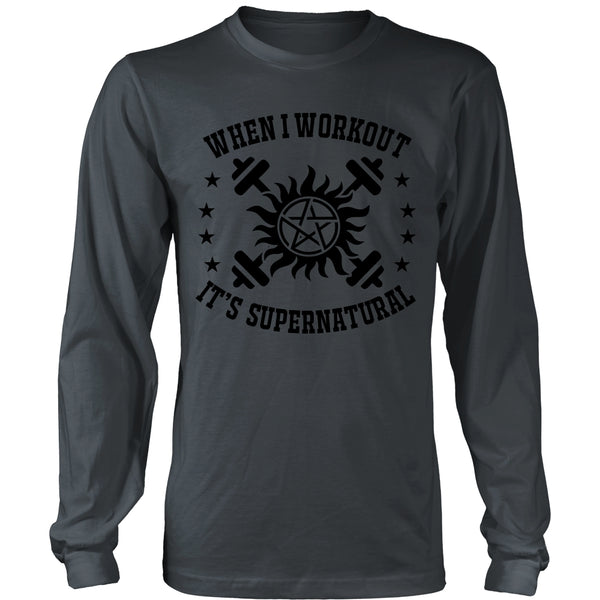 When I Workout - Apparel - T-shirt - Supernatural-Sickness - 7