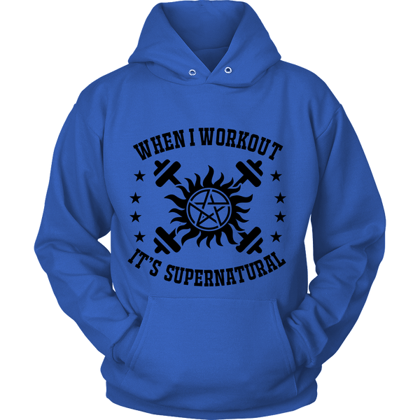 When I Workout - Apparel - T-shirt - Supernatural-Sickness - 9