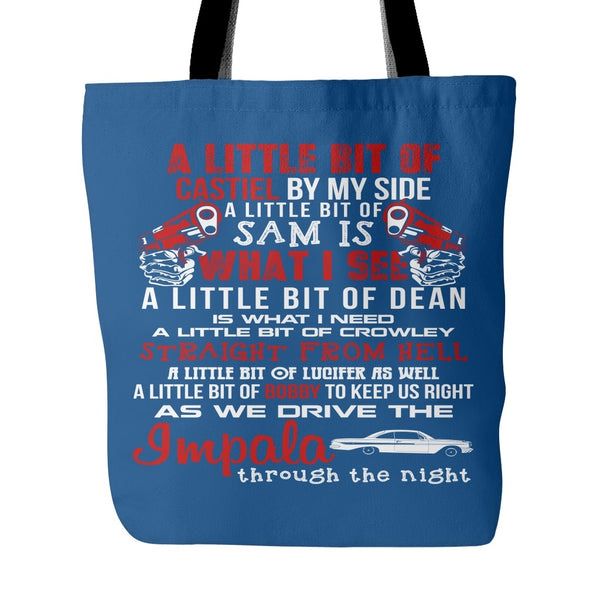 A Little Bit - Totebag - Tote Bags - Supernatural-Sickness - 4