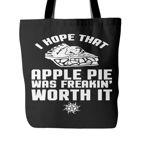 Apple Pie - Totebag - Tote Bags - Supernatural-Sickness - 1
