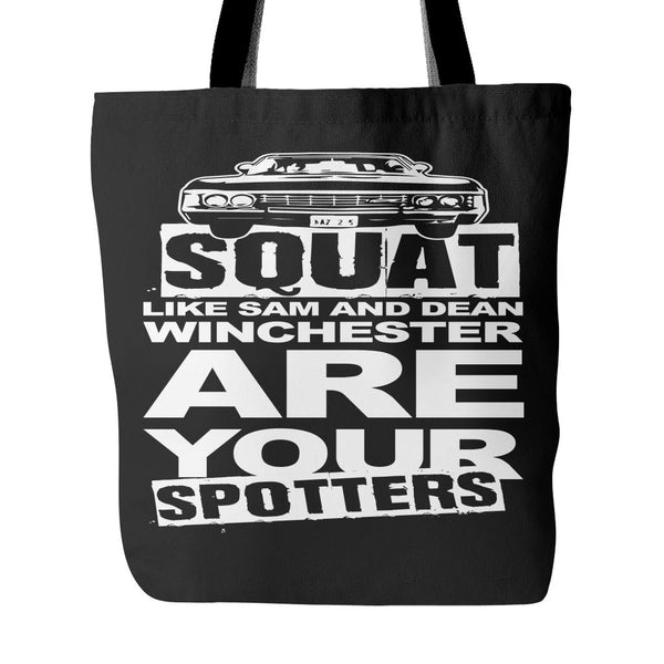 Are your Spotters - Totebag - Tote Bags - Supernatural-Sickness - 1