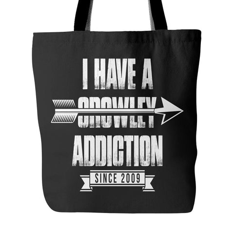 Crowley Addiction - Totebag - Tote Bags - Supernatural-Sickness - 1