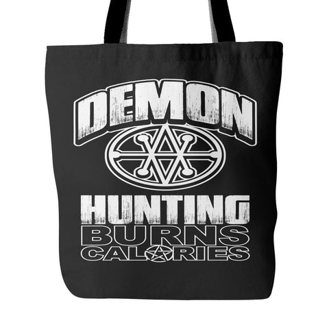 Demon Hunting - Totebag - Tote Bags - Supernatural-Sickness - 1